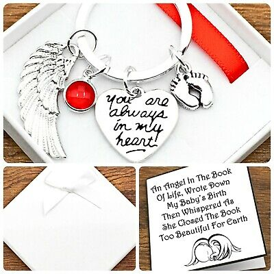 £5.49 • Buy Baby Loss Gift. In Loving Memory. You Are Always In My Heart. Keyring. Box/ Card