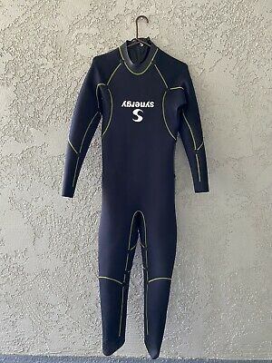 $75.95 • Buy Mens Wetsuit Smooth Skin 3:2 Mm Full Body Surf Scuba Dive Diving Jump Suit L2
