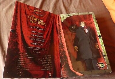 £100 • Buy The Phantom Of The Opera (Lon Chaney) Universal Monster Sideshow Toy 12 Inch NEW