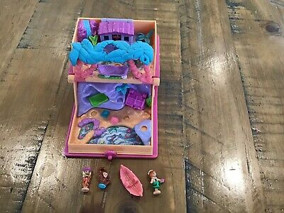 £35 • Buy Polly Pocket Glitter Island 1995 Vintage Toys With Figures