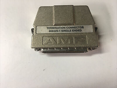 £3.49 • Buy AMP Termination Connector 869329-1 Single Ended SCSI Terminator