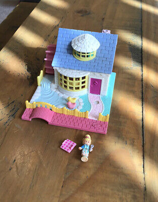 £35 • Buy Polly Pocket 1994 Grandma's Watermill Water Mill Cottage With Figures Bluebird
