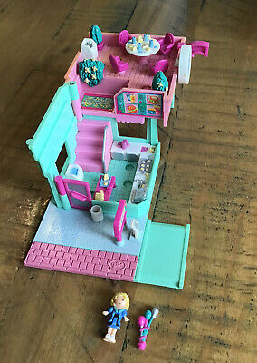 £40 • Buy Polly Pocket 1994 Drive-In Burger Restaurant With Polly Figure Bluebird