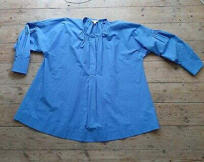£15 • Buy COS 18 / 44 (fits 20-22) Shirt Bright Cornflower Blue Cotton, New With Tags