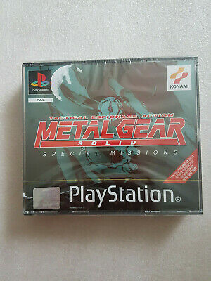 £2.66 • Buy Metal Gear Solid Special Missions Sony PlayStation 1
