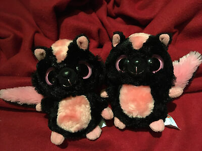 £4.99 • Buy AURORA YOOHOO FRIENDS ❤ X 2 SPARKEE SKUNK Retired Collectable Soft Toy Plush ❤