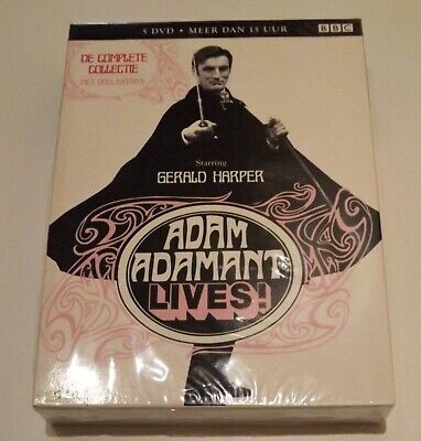 £60 • Buy Adam Adamant Lives! DVD The Complete Collection Dutch Import New See Notes