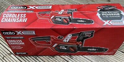 View Details Ozito PXCCSS-018U Power X Change Cordless Chainsaw 250mm 18V Lithium Ion • 110.00£
