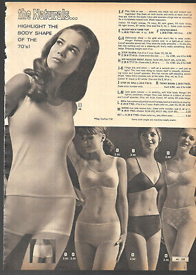 $19.99 • Buy Small Lot Of Vintage Catalog Lingerie Underwear Photo Clippings