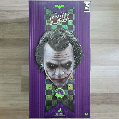 $599.99 • Buy Hot Toys QS10 The Dark Knight Joker  1/4 Quarter Scale Figure EXCLUSIVE! 2 HEADS