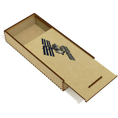 £6.99 • Buy 'International Space Station' Wooden Pencil Case / Slide Top Box (PC00024162)