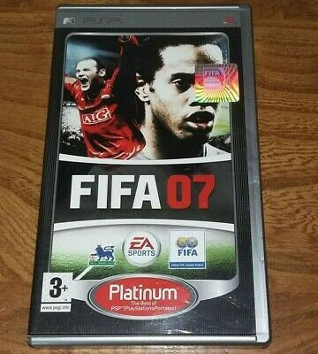 £4 • Buy FIFA 2007 Platinum - Sony PSP - Complete With Manual - Tested And Working
