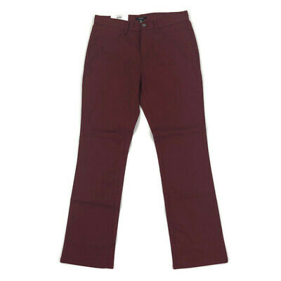 $16.99 • Buy Alfani Mens Pants Casual Flat Front Stretch Red 30 X 30