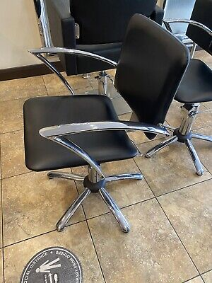 £64 • Buy Beauty Salon / Hairdressing / Barber Black Leather Chair 5 Available