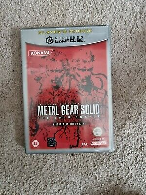 £22 • Buy Metal Gear Solid Twin Snakes GameCube PAL Version -- Includes Both Discs/Manual