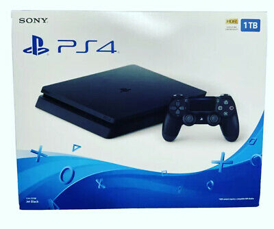 AU564.02 • Buy 🎁🎮NEW Sony PlayStation PS4 1TB Slim Gaming Console Black- Ships Now‼️⚡️