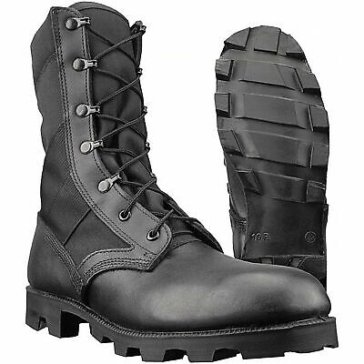 $48.62 • Buy Genuine British U.S. Army Issue Wellco Jungle Combat Leather Boots Size 10 M 44