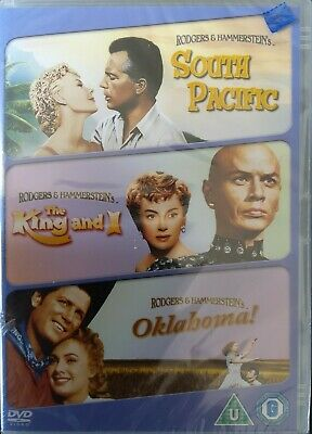 £2.80 • Buy South Pacific/Oklahoma/The King And I (DVD) New And Sealed