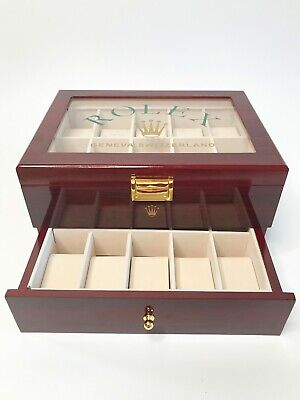 $ CDN99.41 • Buy Rolex Presidential Watch Display Box / Case Holds 20 Watches ( No Reserve)
