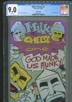 """$15 • Buy Milk And Cheese 2 """"the Other Number One"""" Evan Dorkin 5th Printing Cgc Vf/nm 9.0"""