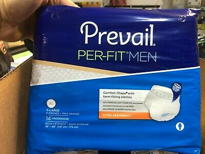 $28 • Buy Full Case Prevail Per-Fit Protective Underwear For Men X-Large PFM-514