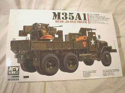 $65.44 • Buy 1/35 AFV Club US Army M35A1 Quad .50 Gun Truck Photo Etched Parts Rubber Tires