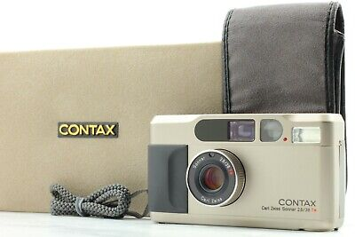 $ CDN1504.55 • Buy 【 MINT In CASE 】 Contax T2 Point & Shoot 35mm Film Camera W/ Strap From JAPAN