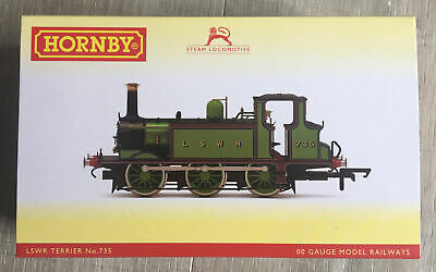 £85 • Buy Hornby R3846X LSWR Terrier No.735 - Used For Display Only