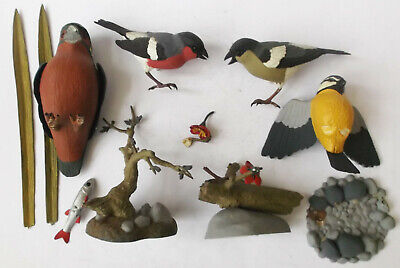 £10.99 • Buy Airfix Wildfife Series Lot - Bullfinches Blue Tit Kingfisher - Spares Or Repair