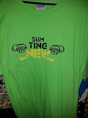 £15 • Buy Sum Ting New Cotti Dubstep T Shirt Size L