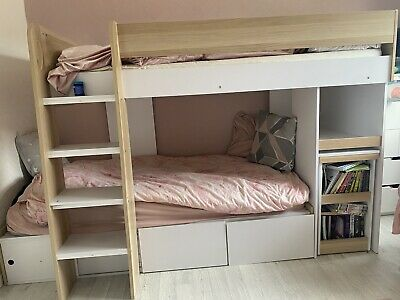 £170 • Buy Bunk Bed With Desk And Storage