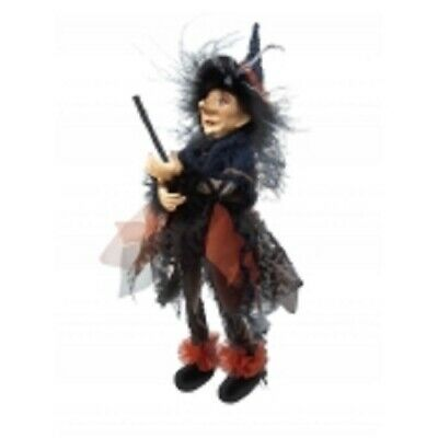 £23.95 • Buy Witches Of Pendle *sabrina  Blue Flying Witch 30 Cms  Info Book Pagan/ Occult