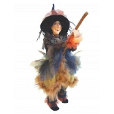 £33.50 • Buy Witches Of Pendle *chattox  Blue Flying Witch 45 Cms  Info Book Pagan/witch