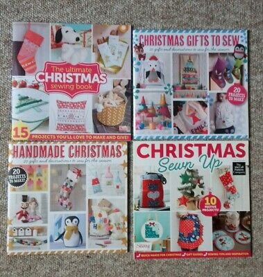 £1.50 • Buy Christmas Craft Sewing Books X 4 - Gifts, Decorations & Projects To Make - New