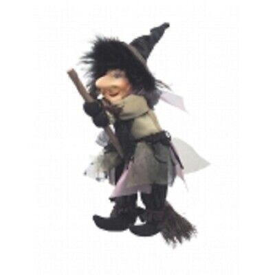 £19.95 • Buy Witches Of Pendle *emily  Green Flying Witch 20 Cms  Info Book Pagan/ Occult