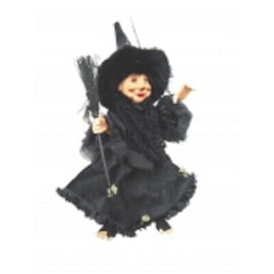 £29.95 • Buy Witches Of Pendle  Rosemary  Flying Kitchen Witch Black 35cms Info Book Pagan