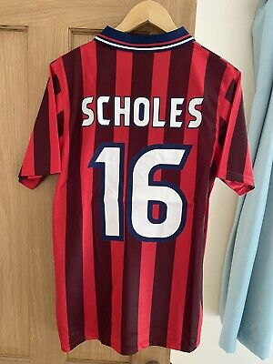 £41 • Buy England World Cup France 98 Away 16 SCHOLES Shirt Brand New With Tags