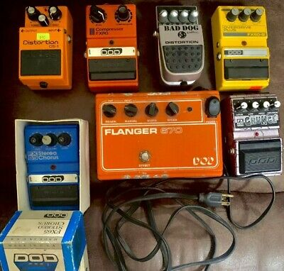 $ CDN1253.90 • Buy 5 DOD Guitar Effects Pedals, DS-1, Big Dog Distortion Pedal