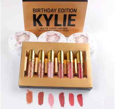 AU20 • Buy Kylie Jenner Birthday Edition 6 Piece Lip Gloss Set In Retail Package