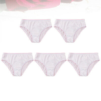 £7.38 • Buy 5pcs Disposable Panties Breathable Panties Underpants Briefs For Outdoors