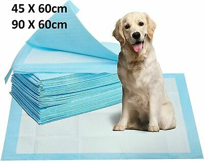 £12.95 • Buy Heavy Large Dog Cat Puppy Pet Training Pads Wee Pee Toilet Pad Floor Mat 2 Sizes