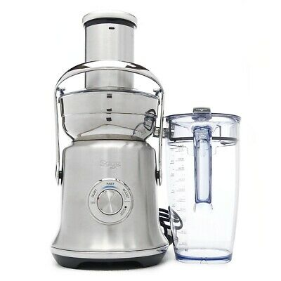 £189 • Buy Sage SJE830BSS Cold XL Nutri Juicer - Brushed Stainless Steel