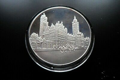£23 • Buy John Pinches 1oz Sterling 925 Silver Coin Betjeman Bygone Britain COA Imperial