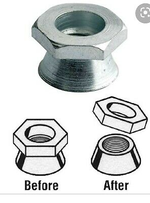 £145 • Buy 1000 X M8 Shear Nuts /Snap Off Nuts