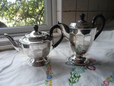 £38 • Buy Viners Of Sheffield Silver Plated Teapot And Hot Water Jug