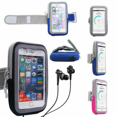 AU22.49 • Buy Armband Phone Holder Case Sports Gym Running Arm Band Bag For IPhone XR/XS/12/11