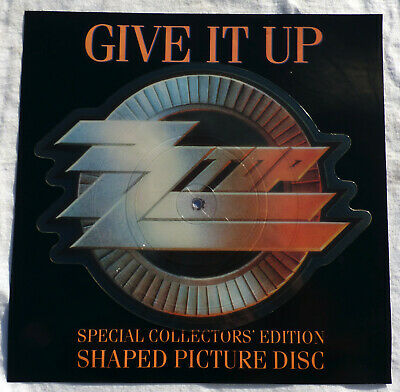 £15 • Buy ZZ Top – Give It Up. 7  Shaped Picture Disc. W9509P. Mint