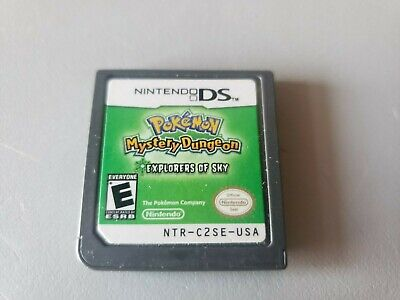 $67.22 • Buy Pokemon Mystery Dungeon Explorers Of The Sky DS - Genuine Cartridge Only