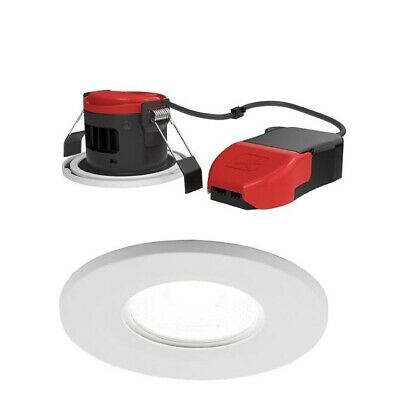 £8.50 • Buy Ansell Apriledp/ww Prism Warm White Dimmable Led Fire Rated Downlight Ip65