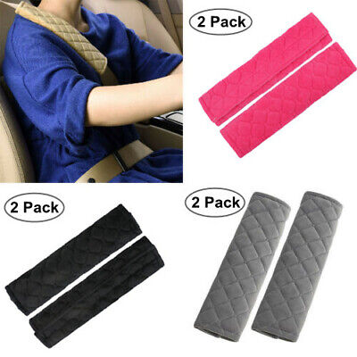 £3.74 • Buy 2 X Car Seat Belt Cover Pads Car Safety Cushion Covers Strap Pad Universal